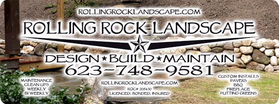 Rolling Rock Landscape